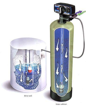 Dung dịch muối tái sinh cột làm mềm nước