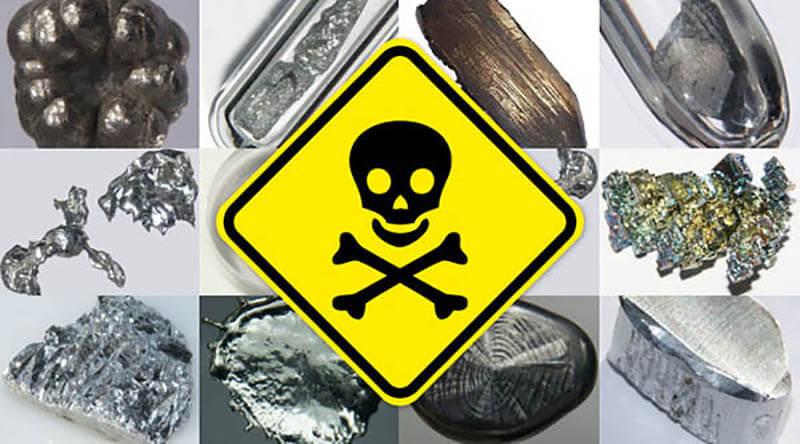 Crôm VI là một kim loại nặng rất độc