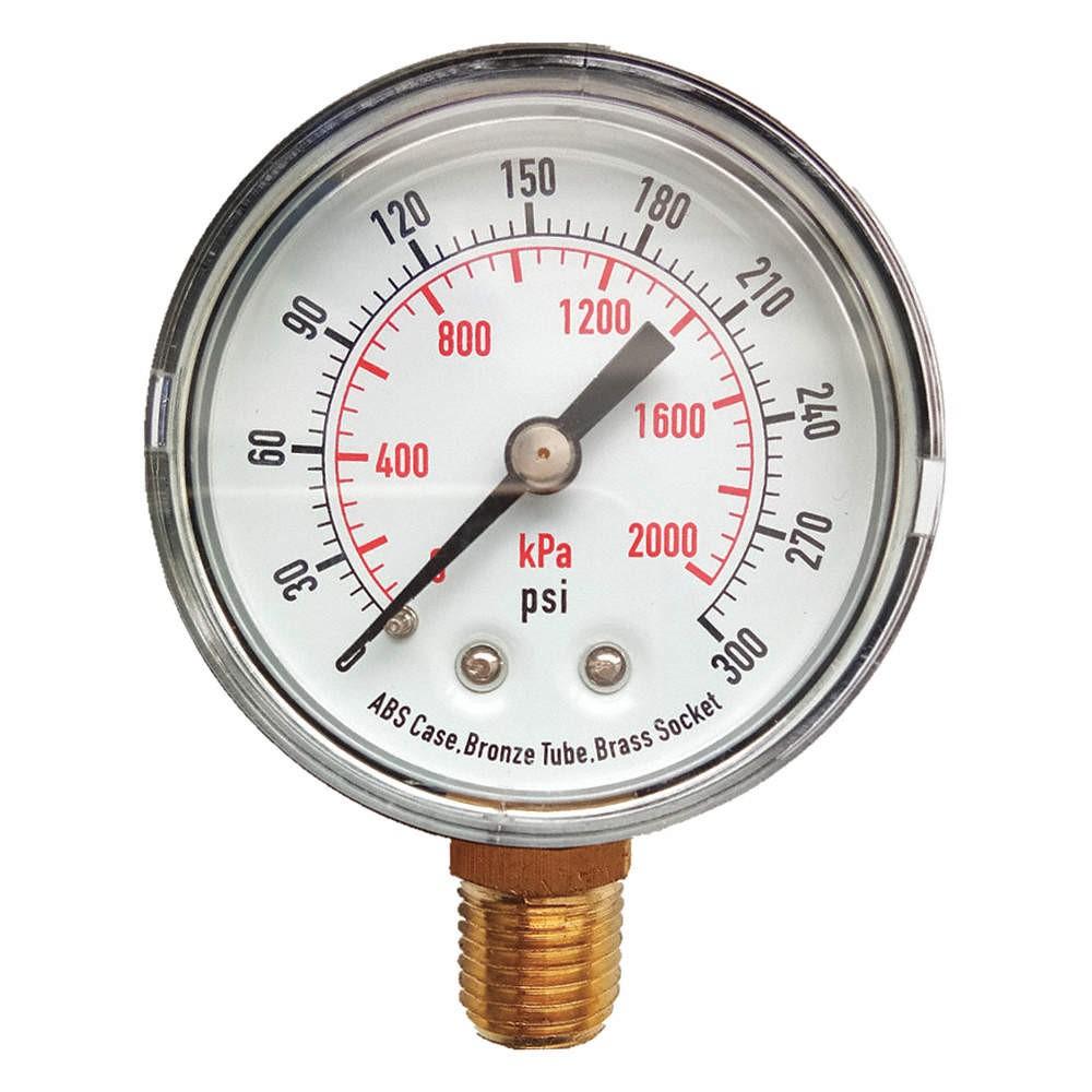 đo áp suất hệ thống lọc nước RO